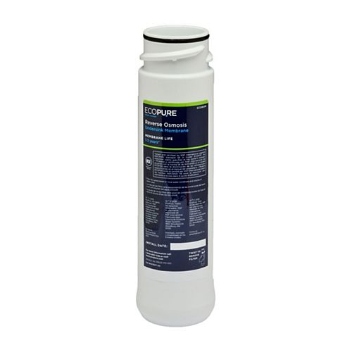 EcoPure Reverse Osmosis Replacement Membrane