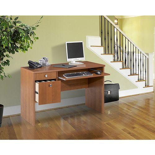 Essentials 24 inchx 48 inch Desk   - Cappuccino