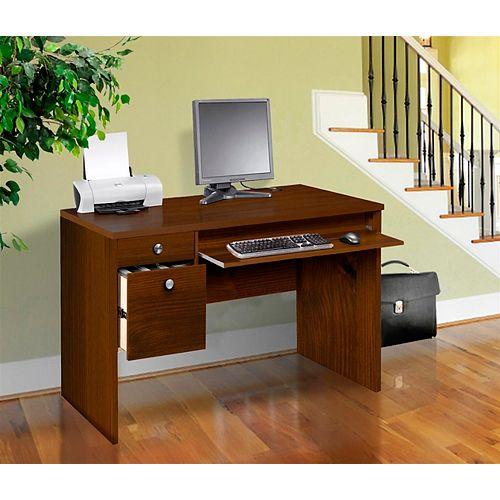 Essentials 24 inch x 48 inch Desk  - Truffle