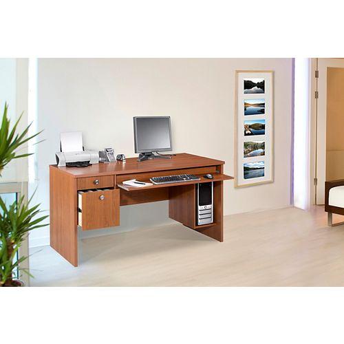 Essentials 30 inch x 60 inch Desk  - Cappuccino