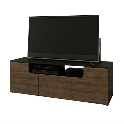 Next 59.75-inch x 20.25-inch x 18.63-inch TV Stand in Walnut