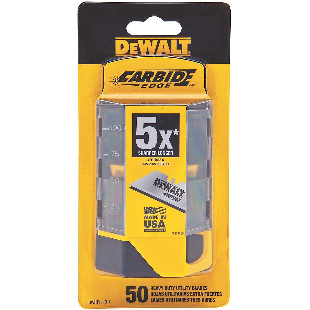 DEWALT Carbide Utility Blade (50-Pack)