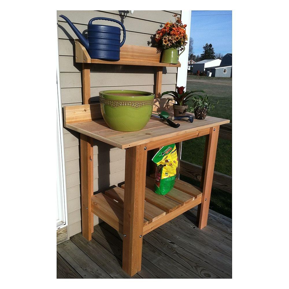 Infinite Cedar Planting Table