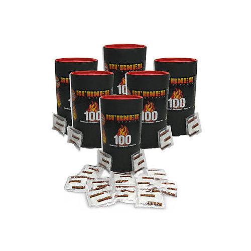 Allume-feux Burner (2 cylindres de 100 sachets)