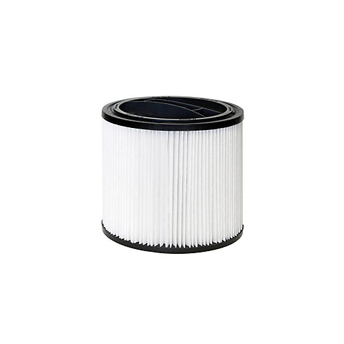 Wet/Dry Vacuum Replacement Standard Filter Cartridge