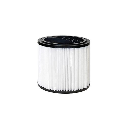 Cartouche filtrante standard de rechange pour aspirateur pour déchets humides/secs