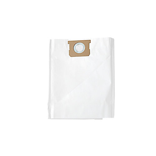 Wet/Dry Vacuum 5-9 U.S. Gallon Replacement Standard Filter Bags