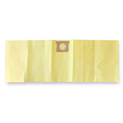 Wet/Dry Vacuum 10-15 U.S. Gallon Replacement High Efficiency Filtration Bags