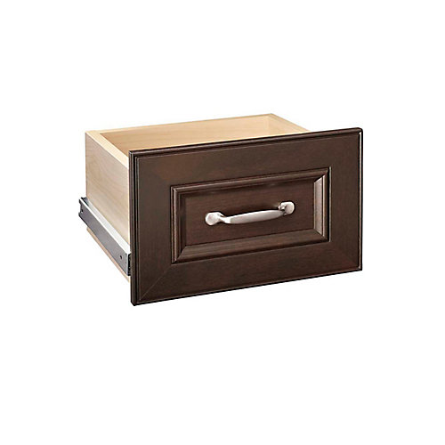 Impressions 16-inch Narrow Drawer Kit in Chocolate