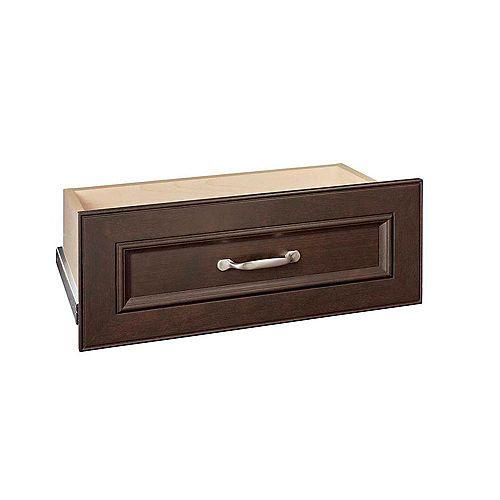 Kit de tiroir standard en chocolat Impressions 25 pouces