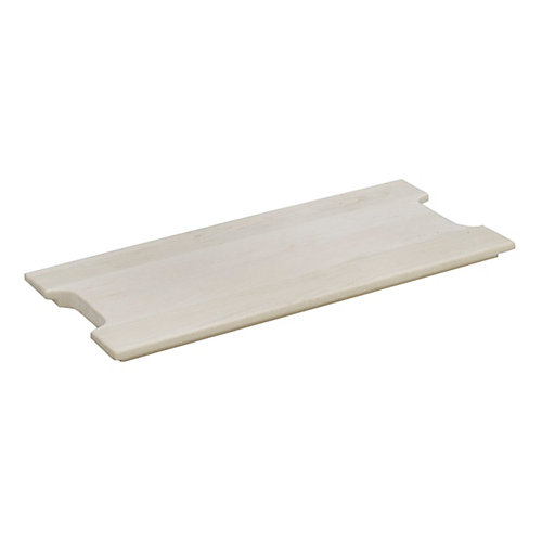 FindIT Wood Full Cutting Board - 20.8125 Inches x 9.625 Inches x 1 Inch