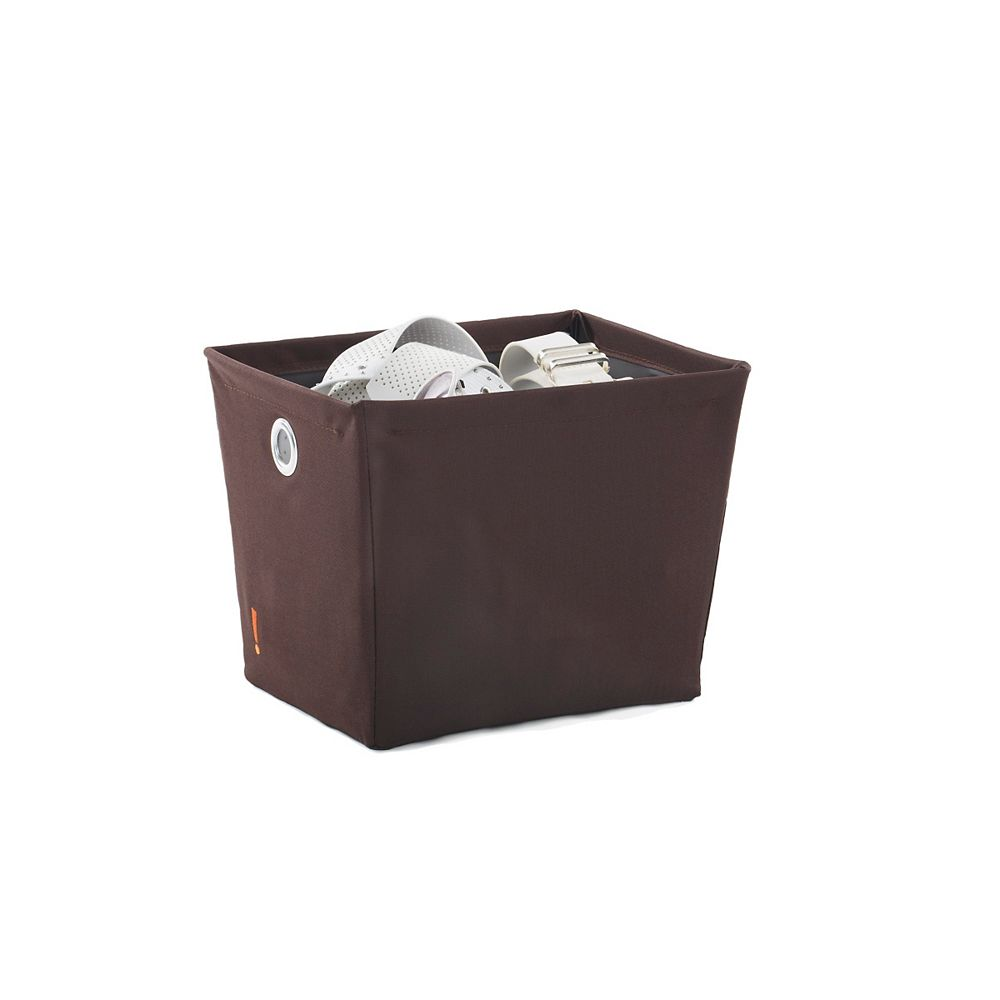 Neatfreak Neatfreak Small Wire Bin Brown