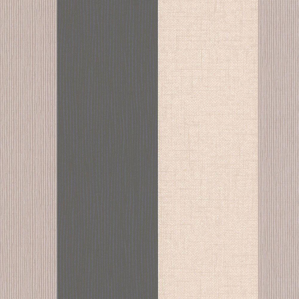 Graham & Brown Java Stripe Black/Beige Wallpaper