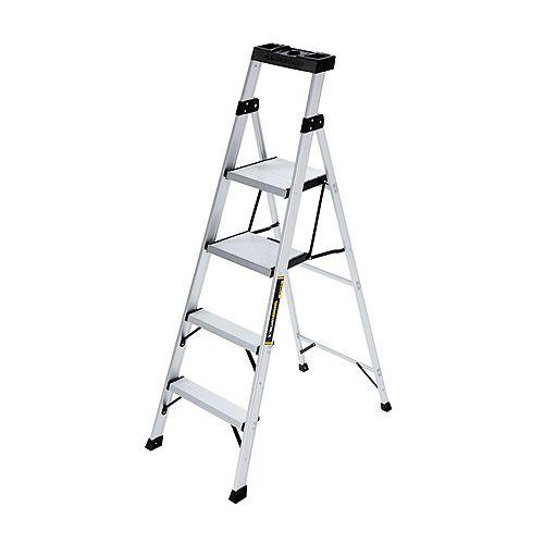 Gorilla Ladders Escabeau Crossover, aluminium, 5,5 pi