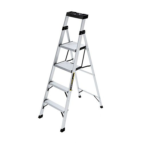 5.5 ft. Aluminum CrossOver Step Ladder