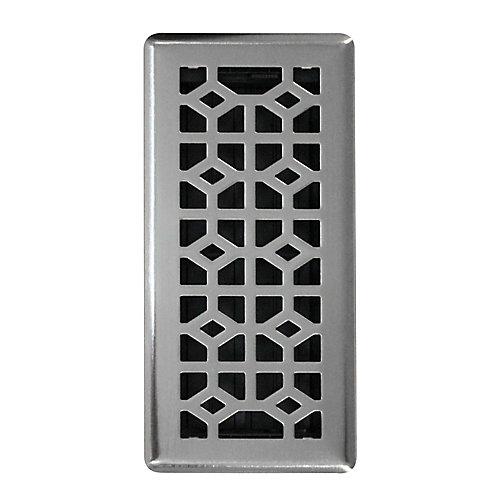 4x10 Inch Abstract Floor Register