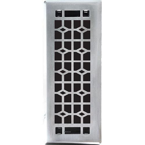 3x10 Inch  Abstract Floor Register