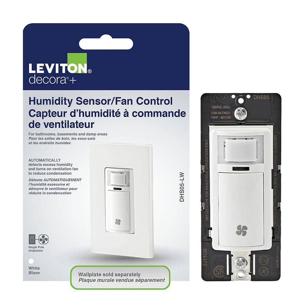 Leviton Decora Humidity sensor and fan control