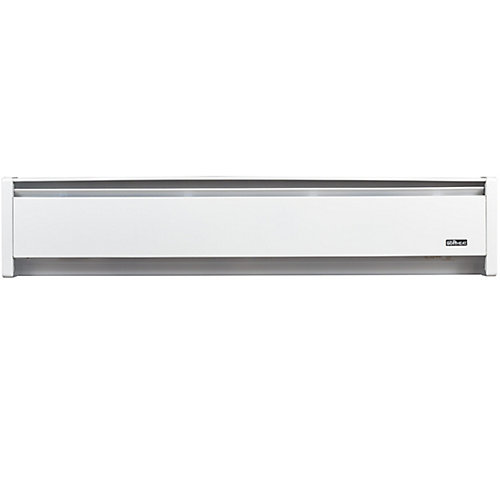 750W 120V, 47 inch SoftHeat hydronic baseboard, white