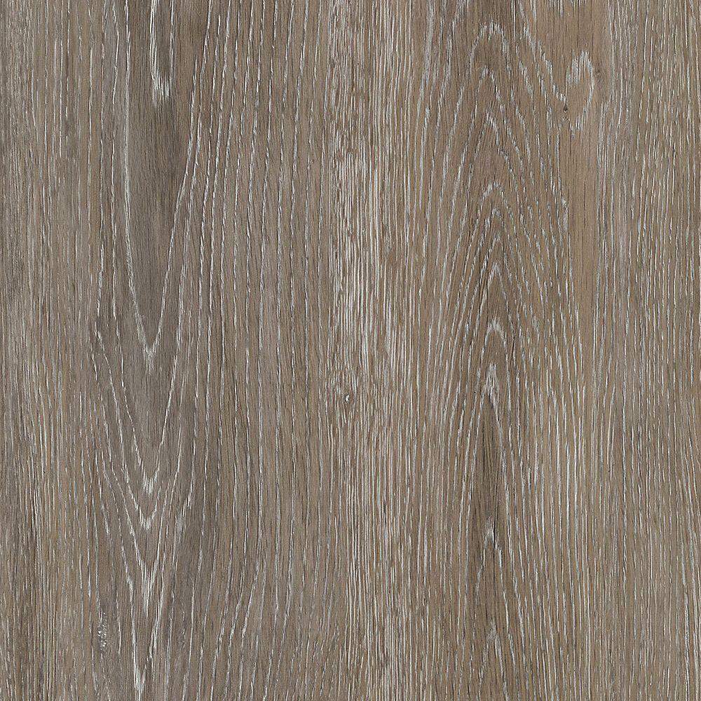 TrafficMASTER Brushed Oak Taupe 6-inch x 36-inch Luxury Vinyl Plank Flooring (24 sq. ft. / case)