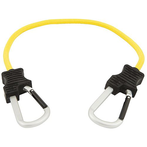 KEEPER Bungee Cord,24 Inch. ,SuperDuty, Carabiner