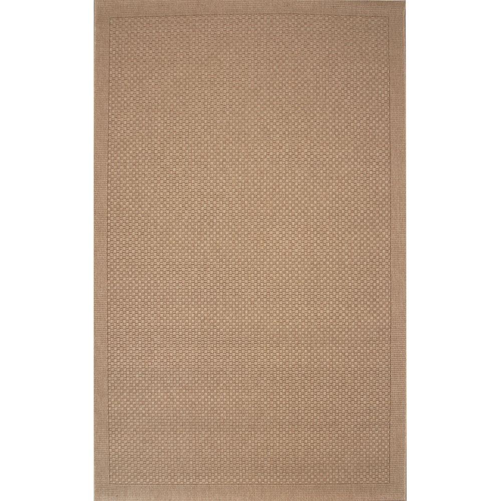 Balta Us Carpette d'intérieur/extérieur, 5 pi 3 po x 7 pi 5 po, style contemporain, rectangulaire, rectangulaire, havane Melbourne