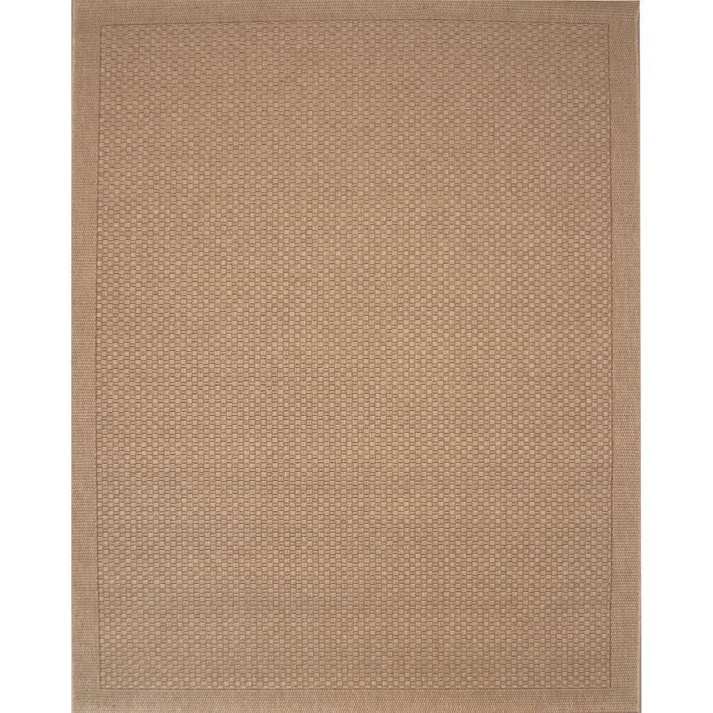 Balta Us Melbourne Beige Tan 7 ft. 10-inch x 10 ft. Indoor/Outdoor Contemporary Rectangular Area Rug