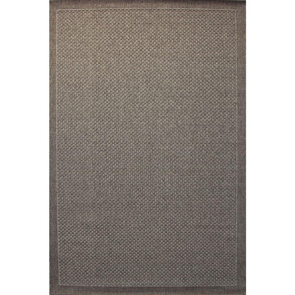Balta Us Carpette d'intérieur/extérieur, 5 pi 3 po x 7 pi 5 po, style contemporain, rectangulaire, rectangulaire, gris Melbourne