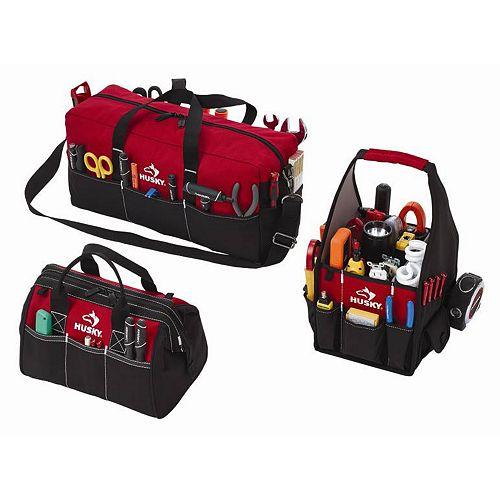 3-Bag Soft Storage Combo