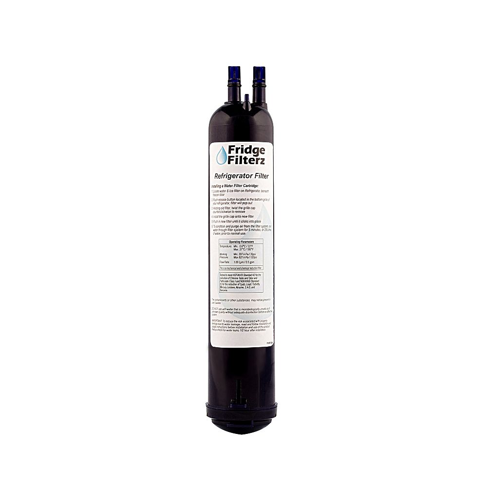 Fridge Filterz Replacement Refrigerator Water & Ice Filter for Whirlpool 4396710, KitchenAid, Amana, Maytag