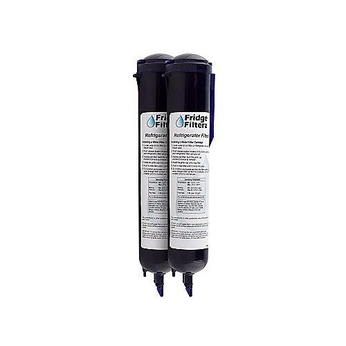 Whirlpool 4396710, KitchenAid, Amana, Maytag Filtre à eau & filtre à glace de rechange 2PK