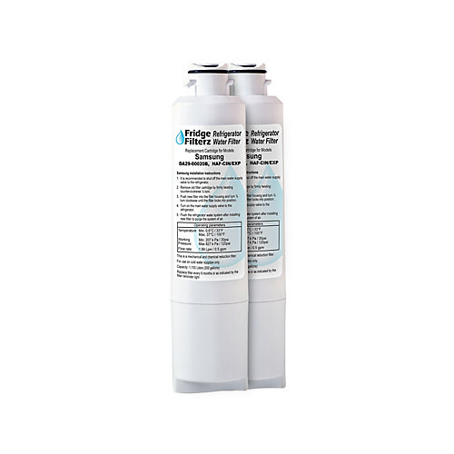 HAF-CIN/EXP Replacement Water and Ice Filter for Samsung Refrigerator (2-Pack)