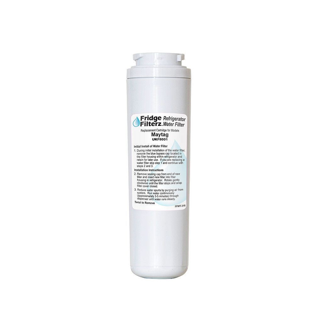 Fridge Filterz Replacement Refrigerator Water & Ice Filter for Maytag UKF8001, Amana, KitchenAid Refrigerators