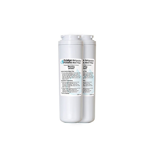 Refrigerator Water & Ice Filter for Maytag UKF8001, Amana, KitchenAid (2-Pack)