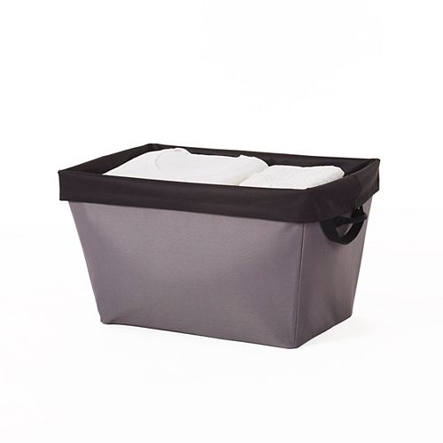 Neatfreak Laundry Basket with Removable Bag and Everfresh, Grey