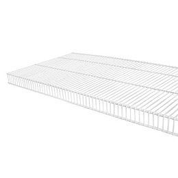 TightMesh 16-inch x 8 ft. Wire Shelf in White
