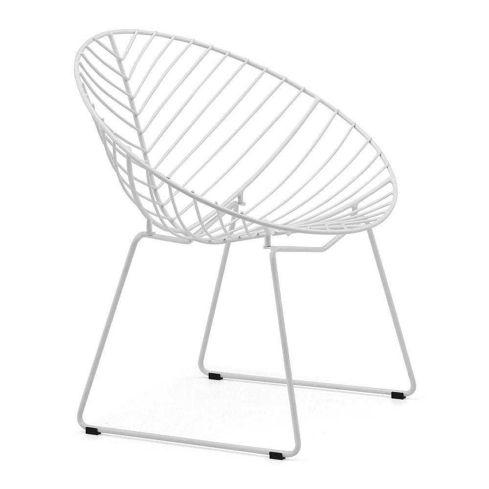 Zuo Modern Chaise Withworth Blanc