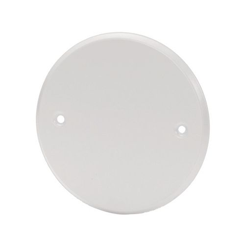 5 -inch Round White Finishing Cover