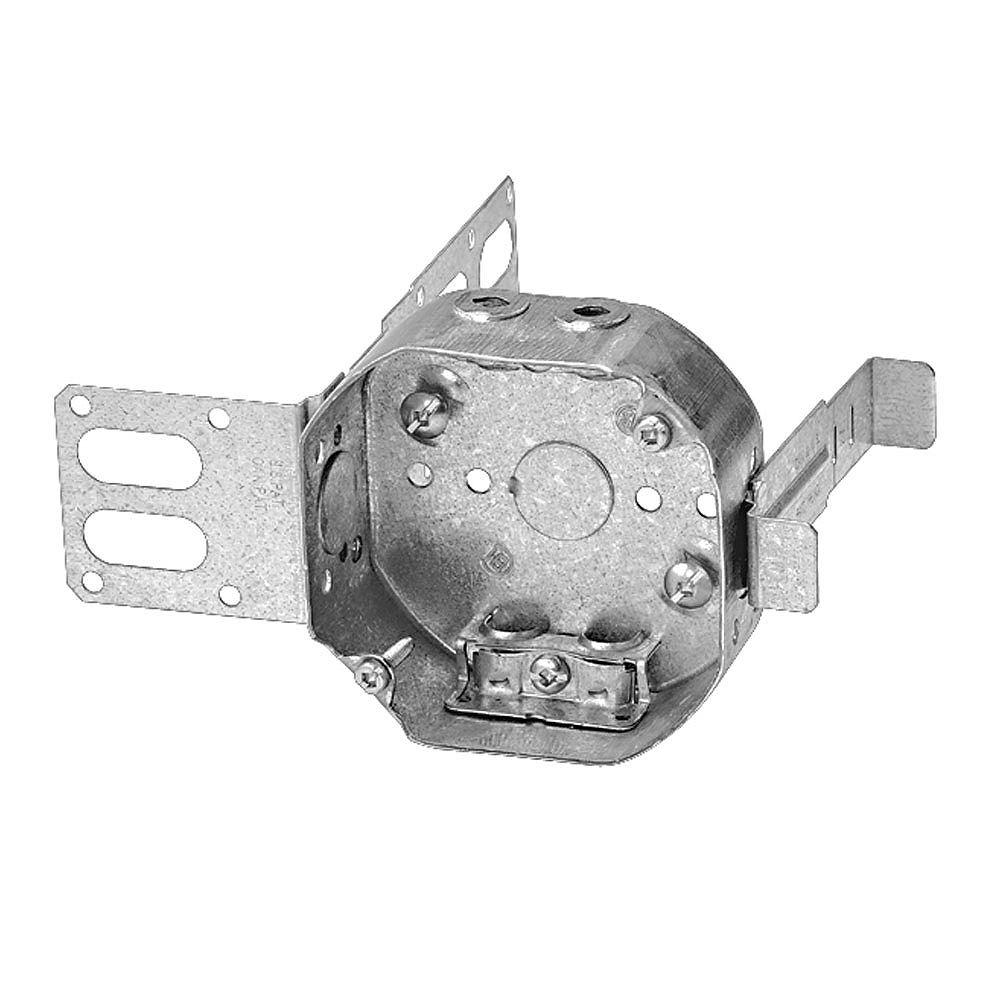 Iberville Octagonal Box 1-1/2 Inch AC90 Steel Stud