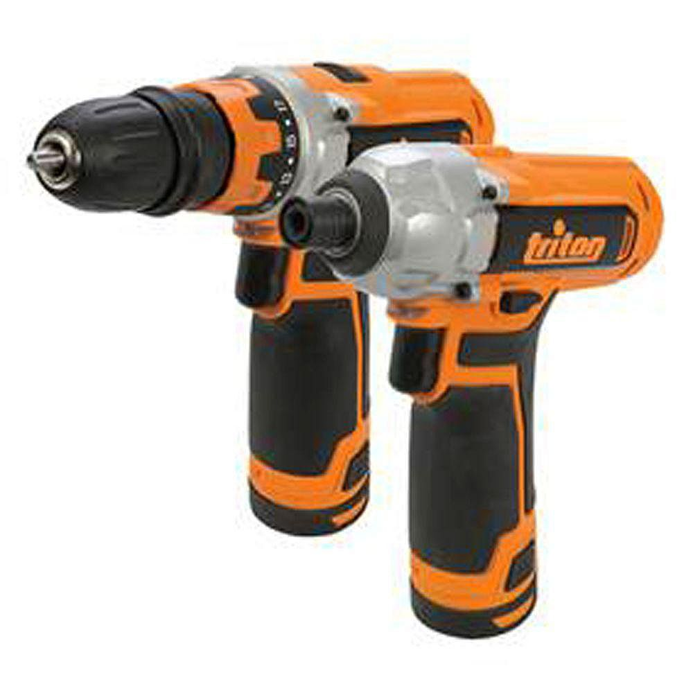 Triton Tools 12V Drill/Driver and Impact Driver Combo Kit