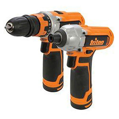 12V Drill/Driver and Impact Driver Combo Kit