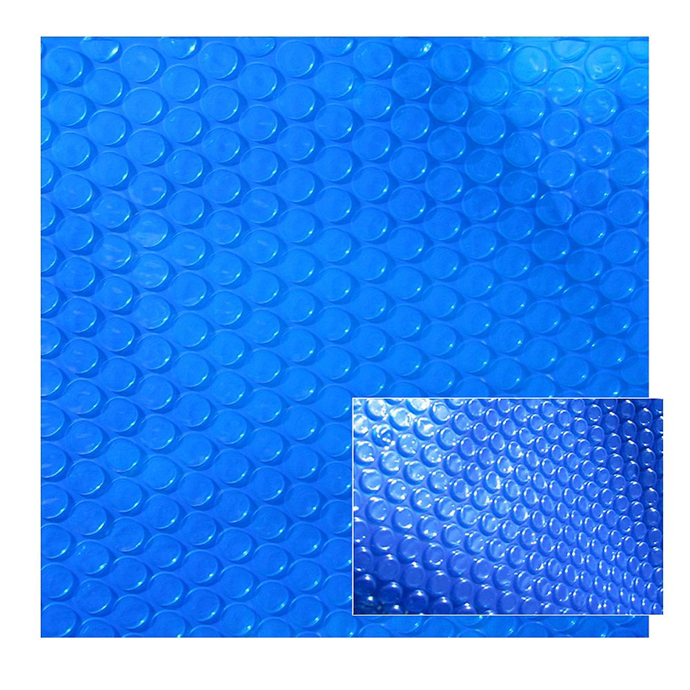 Blue Wave 14 ft. x 28 ft. Rectangular 12-mil Blue Solar Blanket for In-Ground Pools