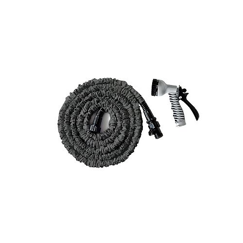 25 ft. Expanding Garden Hose with Nozzle