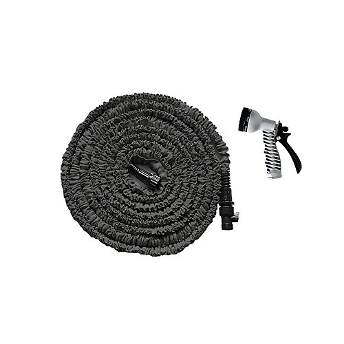 50 ft. Expanding Garden Hose with Nozzle