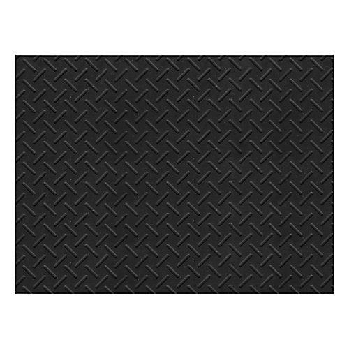 Tapis robuste, 3 pi x 4 pi, motif caillebotis