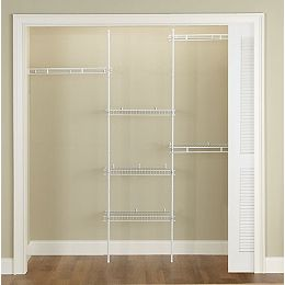 5 ft. to 8 ft. Adjustable Direct Mount Closet Kit