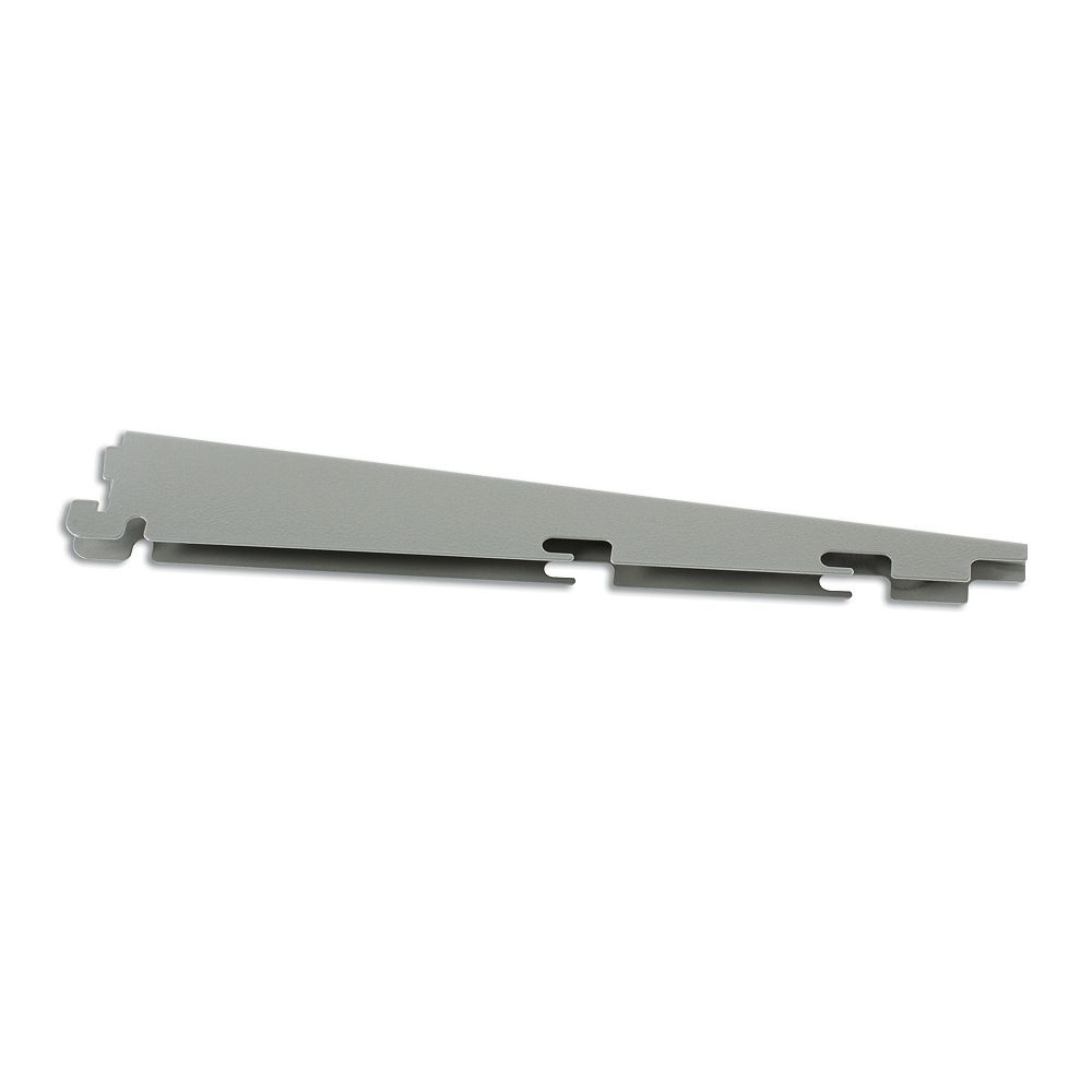 Rubbermaid Fast Track Bracket - 16 Inch  Satn Nickl