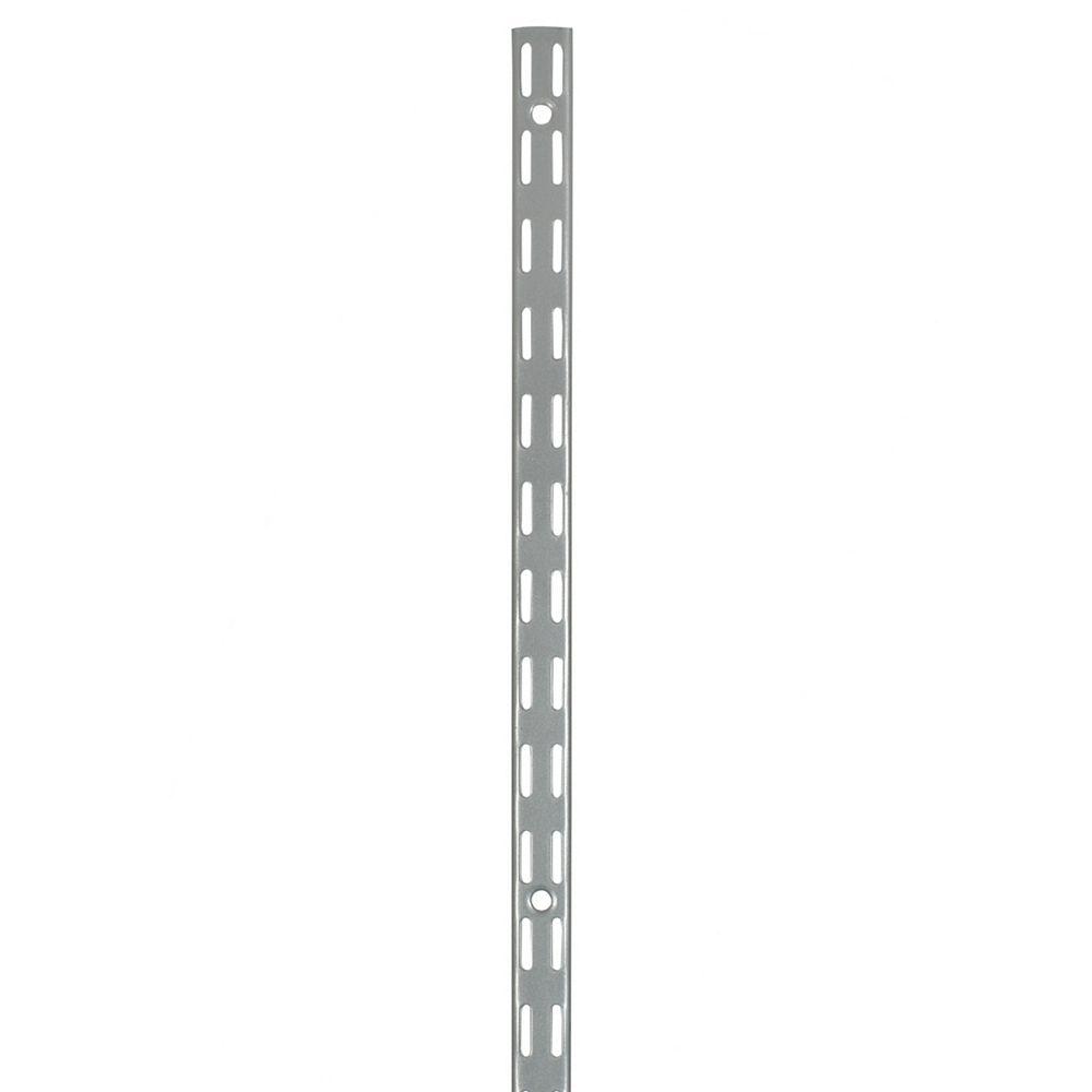 Rubbermaid Fast Track Upright- 47.5 Inch  Satn Nickl