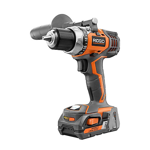 1/2-inch 18V Cordless Lithium-Ion Drill Kit (1 Battery)