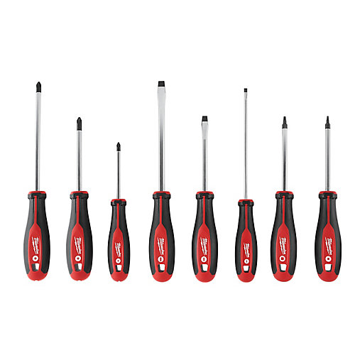 Screwdriver Kit with Square (8-Piece)